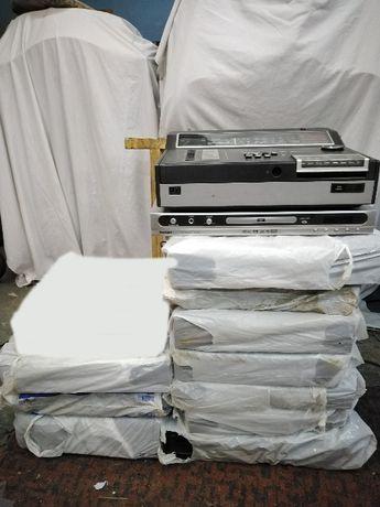 10 sprzetów RTV magnetowid dvd SHARP GRUNDIG DAEWOO VQ25 telefunken