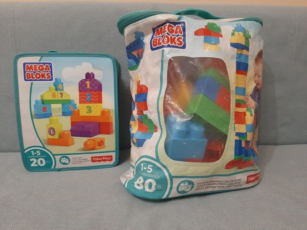Zestaw Mega Bloks Fisher Price 20+80