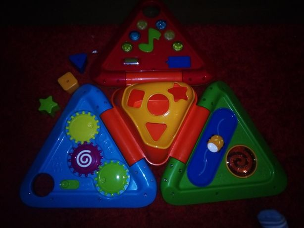 Pirâmide de actividades nova da Imaginarium