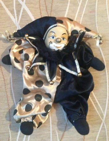 Винтажная игрушка Скомарох,Шут,Арлекино