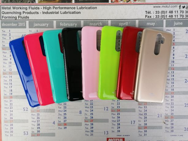 Etui Case Jelly Mercury Goospery Kolory do Xiaomi Redmi Note 8 Pro