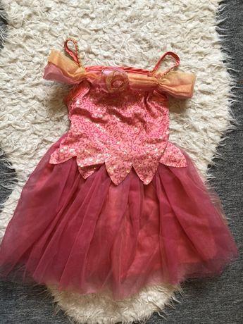 Sukienka wróżka cekiny hm bal przebierańców księżniczka