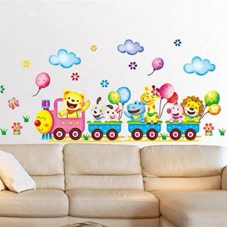 Детские виниловые наклейки на стены