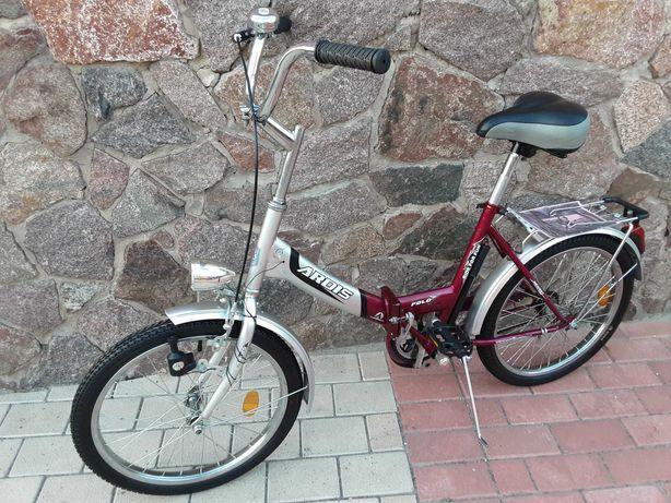 Складной женский подростковый велосипед Ardis Fold с паспортом