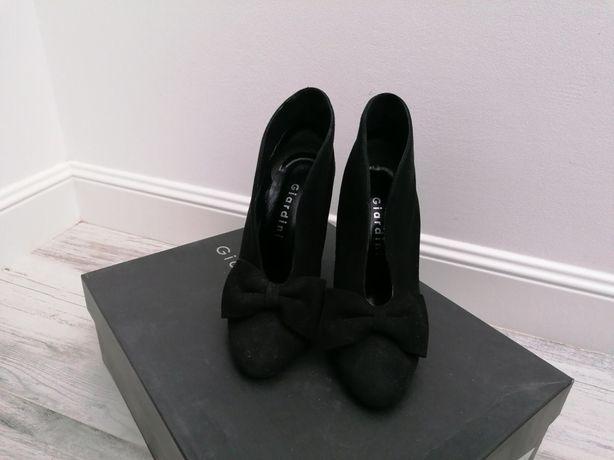 Ботильоны ботинки замшевые GIARDINI