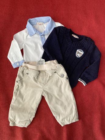 Рубашка, штанишки,  свитер, жилетка Brums Kanz