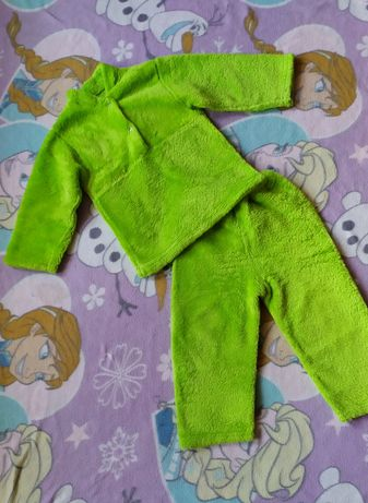 Пижама махровая теплая на 2-4 года 260₽