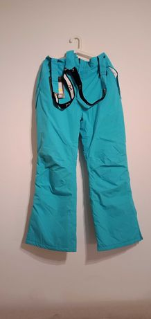 spodnie narciarskie damskie 44/xxl 2xl niebieskie Campus ETINA nowe
