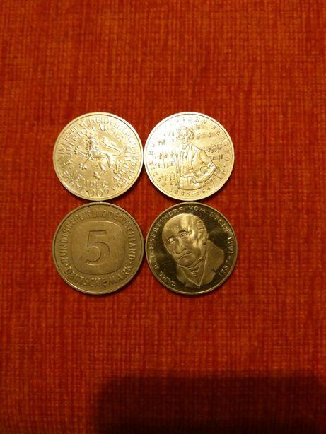 5 marek niemieckich