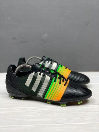 Футбольные бутсы Adidas NitroCharge 2.0 FG original 45 копочки бампы