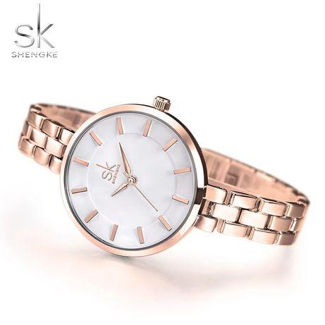 Nowy zegarek damski róż złoty bransoletka Z024 !