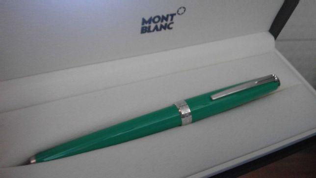 MONTBLANC - Caneta ROLLERBALL NOVA com caixa original cor verde
