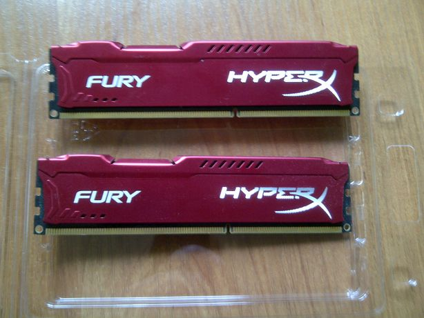 Pamięć RAM Hyper Fury Red 8Gb