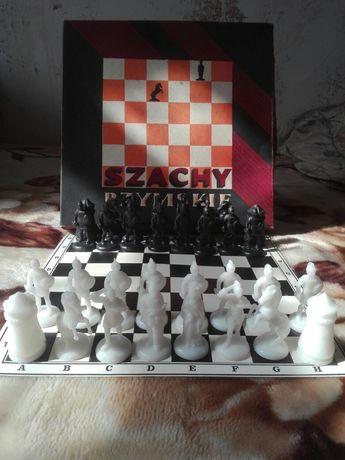 Szachy rzymskie figurki szachowe.