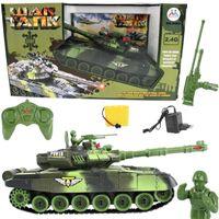 Zdalnie Sterowany Czołg na akumulator RC możliwa Bitwa Czołgów