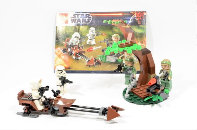 LEGO Star Wars 9489 Endor Rebel Trooper & Imperial Trooper Battle Pack