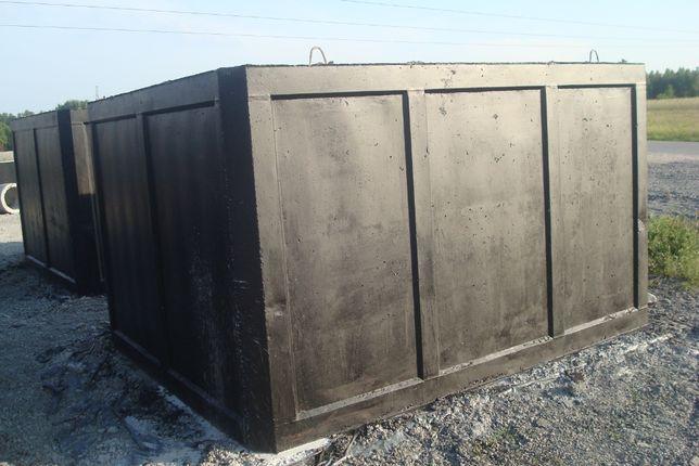 szambo 5m3 szamba betonowe piwnica betonowa kanał zbiornik na wodę