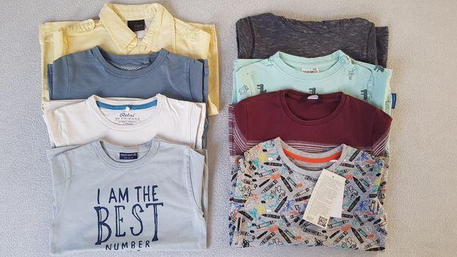 Zestaw 98 Next koszulki t-shirt bluzka koszula bluzki Rebel
