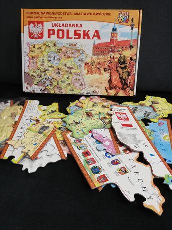 Nietypowe puzzle o Polsce