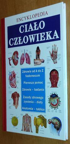 Książka Ciało człowieka Encyklopedia NOWA MEDYCYNA, MATURA BIOLOGIA