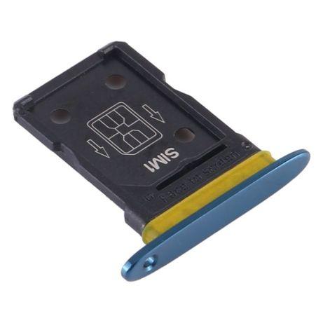Gaveta cartão SIM para OPPO Find X2 - Azul