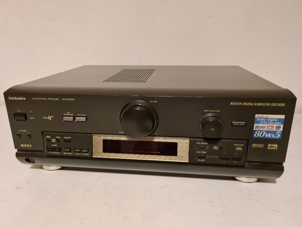 Technics Ampituner AV Control Stereo Receiver SA-DX850
