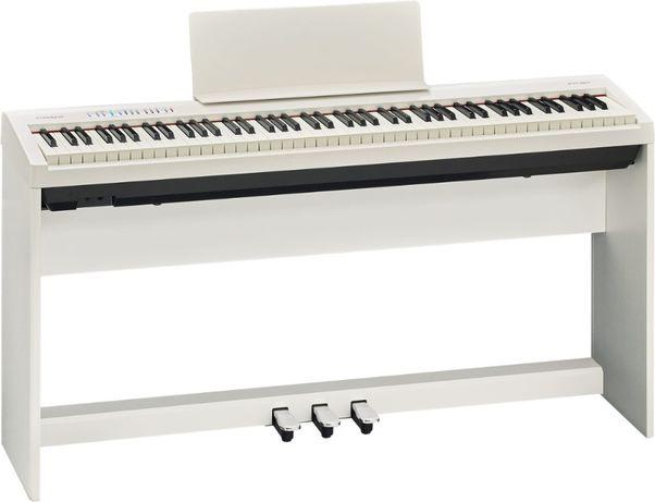 Roland FP 30 WH biały - SET cały zestaw - pianino cyfrowe