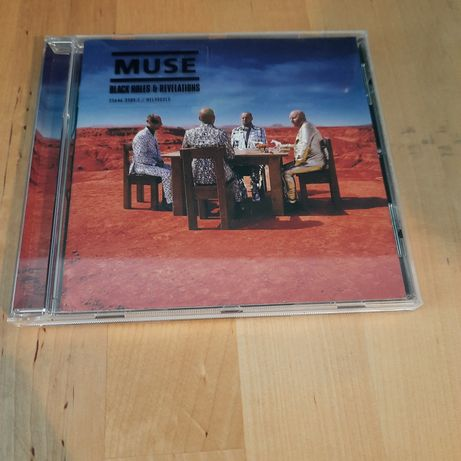 Muse - Black Holes and Revelations - 2006 - CD