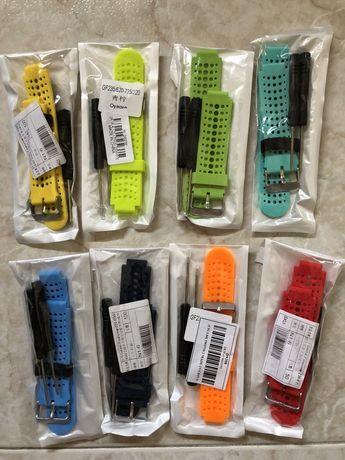 Braceletes/Pulseiras substituição Garmin 220/230/235/620/630/735 xt