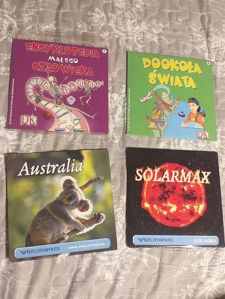 4 płyty cd edukacyjne