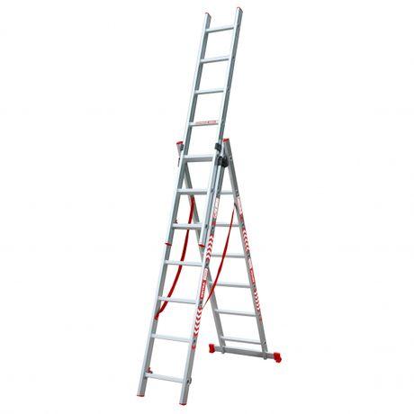 Драбина, стремянка, лестница, трансформер, алюміній Найкраща ціна