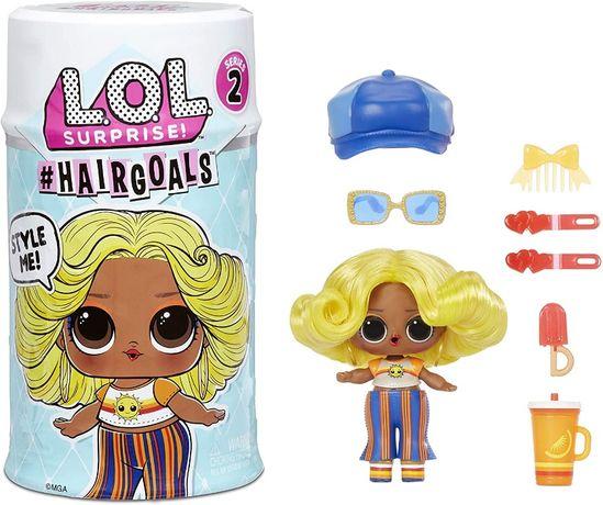 ОРИГИНАЛ! LOL Surprise капсула с куклой ЛОЛ с волосами серия 2 H