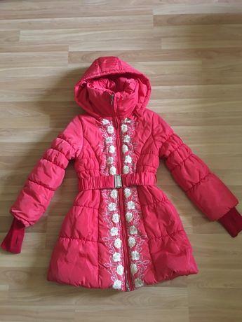 Зимнее пальто 10 лет