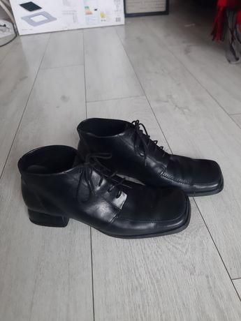 Buty damskie skórzane  Ryłko