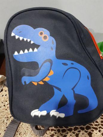 Plecak dinozaur żłobek przedszkole
