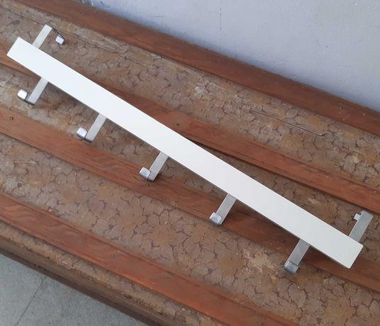 Cabide p/ Porta/Parede IKEA Tjusig Branco 60cm