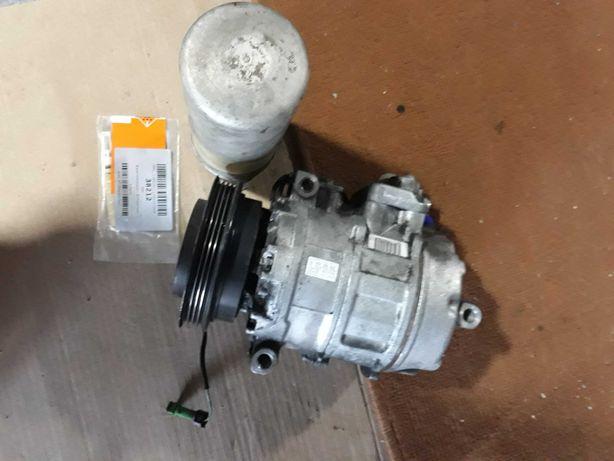 Compressor de ar condicionado + secador + válvula de expansão