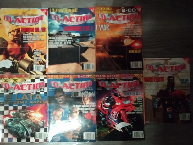 CD -Action nr 1997 z 1998 z 1999 z 2000 z 2001 z 2002 z 2003 z 2008