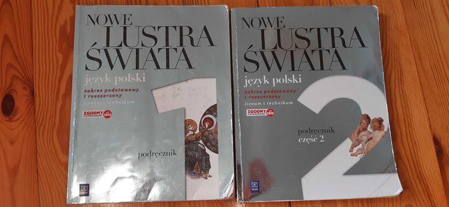 Nowe lustra świata 1,2 WSiP język polski- podręcznik