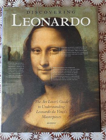 Продам альбом  картин Леонардо да Винчи Discovering Leonardo da Vinci
