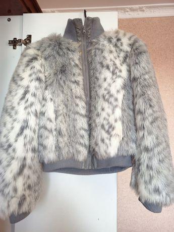 Меховая куртка New Look