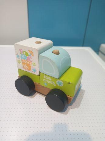 Машинка из дерева Експрес-Мороженное