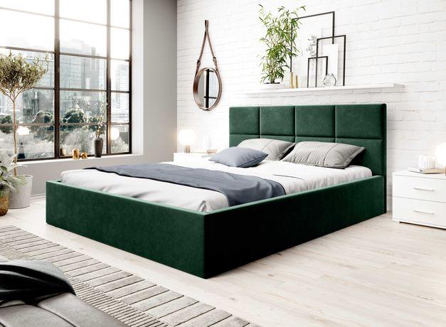 Łóżko tapicerowane sypialniane TOLO 140/160/180x200 Różne Kolory