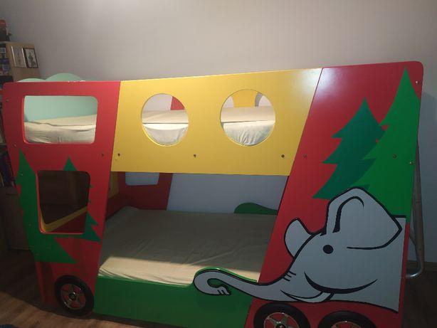 Łóżko piętrowe Funny Bus