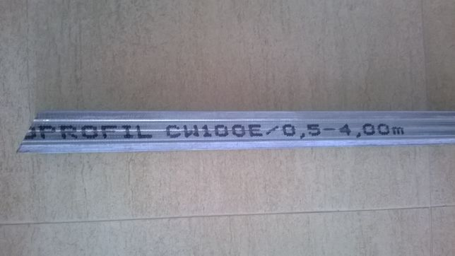Profil ścienny CW 100 - 4 mb z grubej blachy -21sztuk