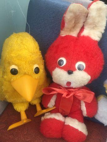 Мягкие игрушки, куклы СССР