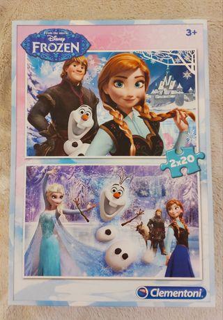 Puzzle da Frozen