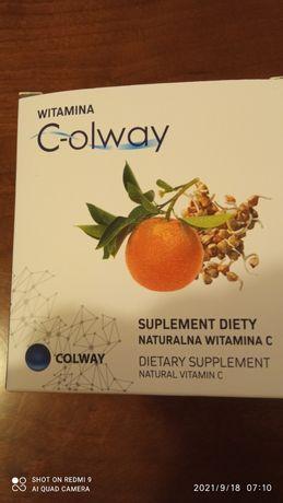 Witamina C Colway 100 kapsułek i za darmo kolagen silver- próbka krem