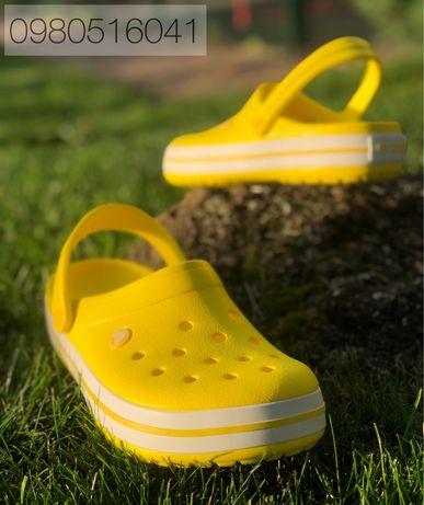 Женские Тапки Кроксы Крокси Crocs Крокбенд от 36 до 45 размера