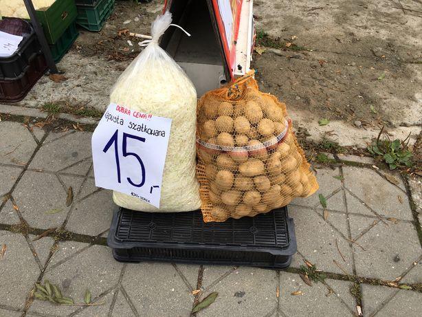 Kapusta szatkowana 10kg (warzywa, owoce)